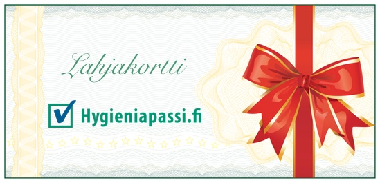Gift Card for a Hygiene Passport Test